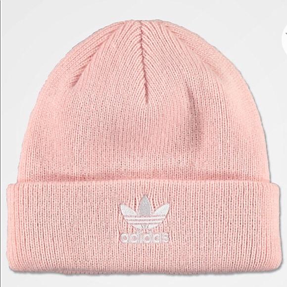 f94493a0c1a adidas Accessories - Pink Adidas Beanie